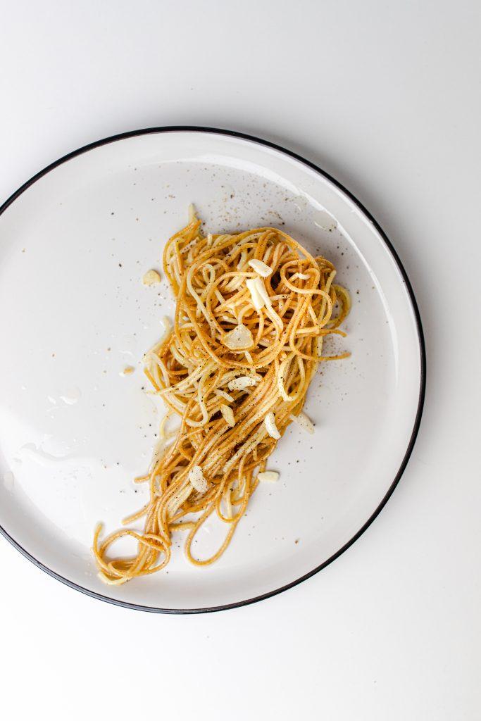 aglio-olio-spagety