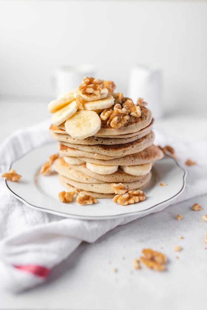 banánové-vegánske-lievance-bez-cukru